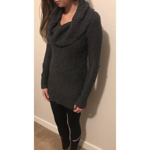 American Eagle cowl sweater dress